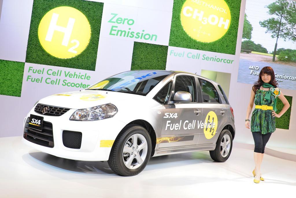 Tokio 2009:  Suzuki Swift Plug-in-Hybrid und Brennstoffzellen SX4 - Bild