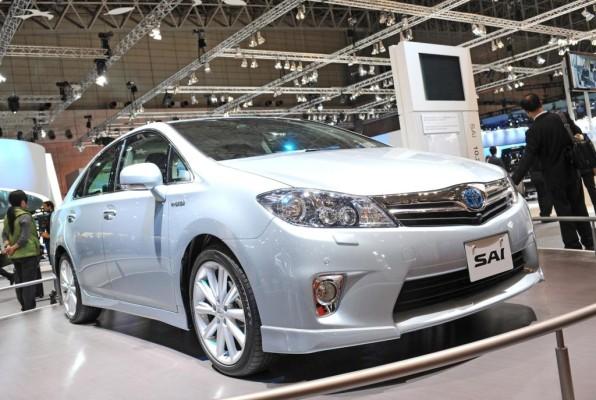 Tokio 2009: Weltpremiere für Toyota Vollhybrid Sai