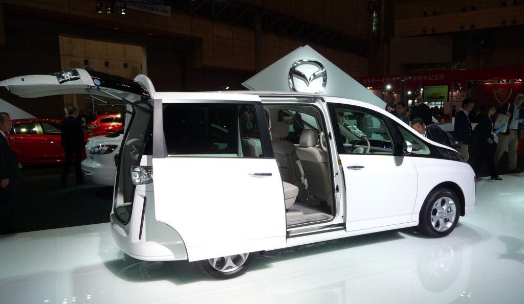Tokyo Motor Show 2009: Mazda Biante zeigt sich