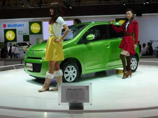 Tokyo Motor Show 2009: Suzuki Alto feiert 30. Geburtstag