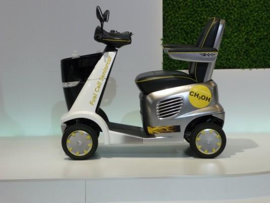 Tokyo Motor Show 2009: Suzuki zeigt elektrischen Rollstuhl Mio