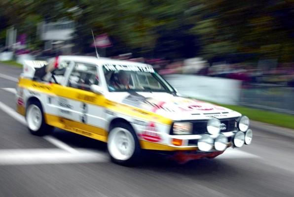 Traum-Duo: Walter Röhrl und Audi Sport quattro