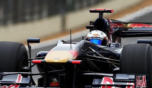 Unfall und zweiter Platz für Toro Rosso: Guter Beginn