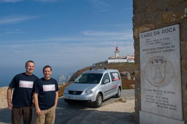 VW Caddy Maxi 4MOTION startet zur Transeurasia von Portugal nach Russland