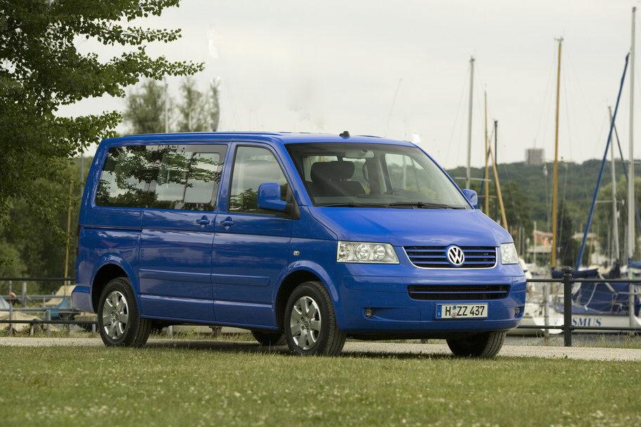 VW Multivan ist meistgestohlenes Auto