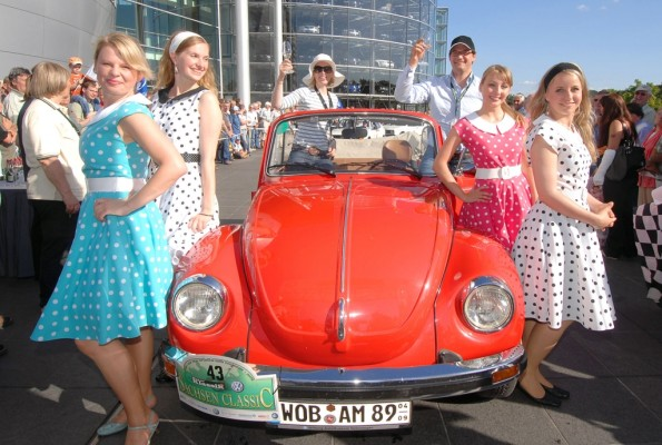 VW an der Spitze der historischen Fahrzeuge