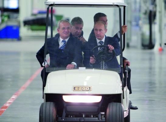Volkswagen Konzern startet Vollproduktion in Russland
