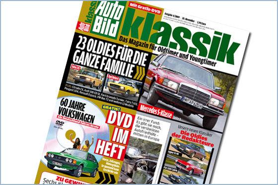 "''Auto Bild Klassik'': DVD""60 Jahre Volkswagen"""