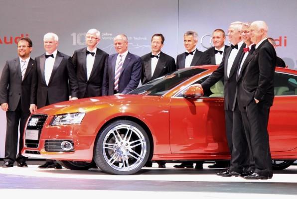 Deutscher ''Design-Oscar'' für Audi A5 Coupé