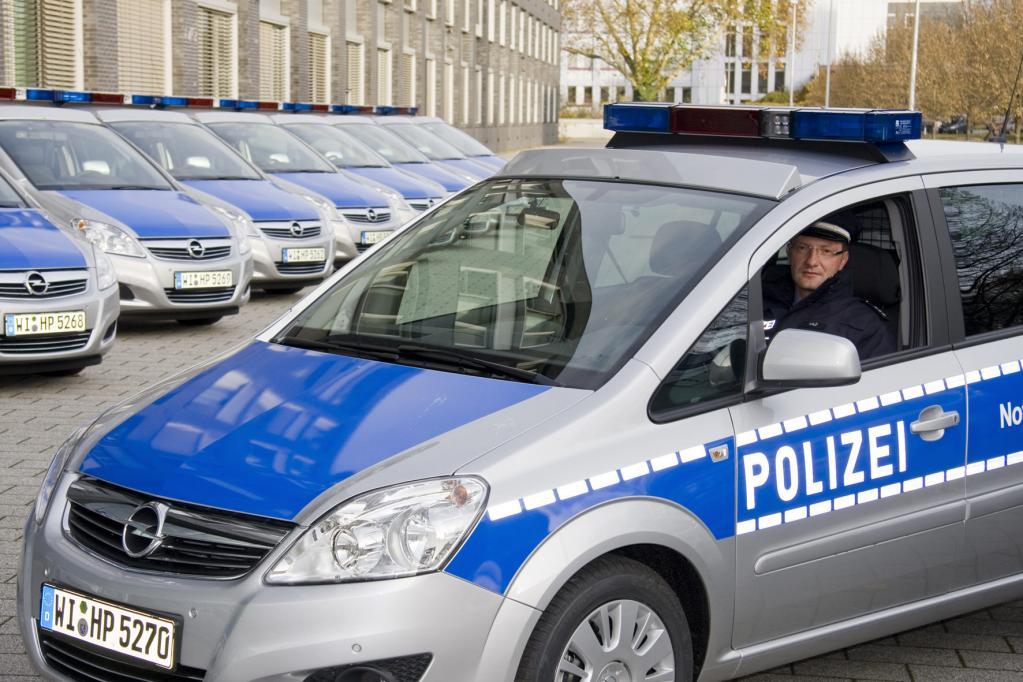 100 Opel Zafira für die Polizei in Hessen