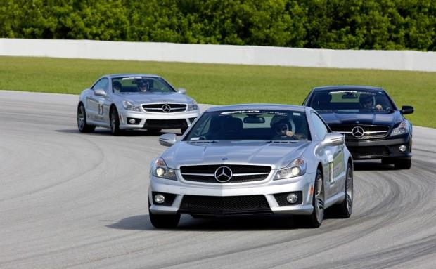 AMG Driving Academy mit dem SLS in den USA