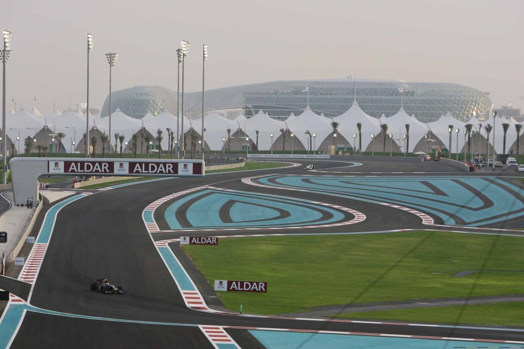 Abu Dhabi: Neue Rennstrecke der Superlative - Bild - Bild