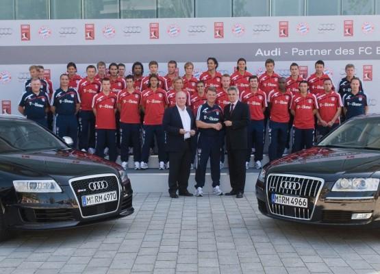 Audi steigt für 90 Millionen Euro beim FC Bayern München ein