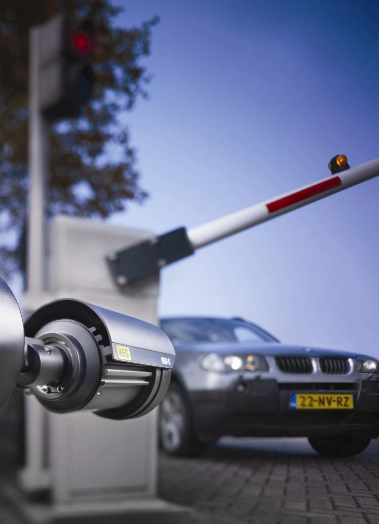 Automatisierte Zufahrtskontrollsysteme von Bosch