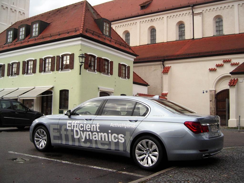 BMW ActiveHybrid 7: Mit zusätzlichem Elektromotor
