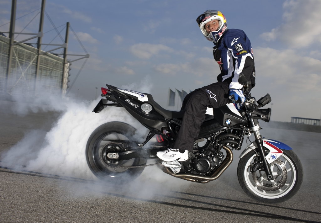 BMW F 800 R Chris Pfeiffer.