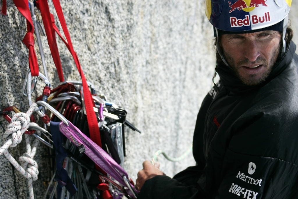BMW Welt Icetower Challenge, Vizeweltmeister im Eisklettern, Stefan Glowacz (11/2009)