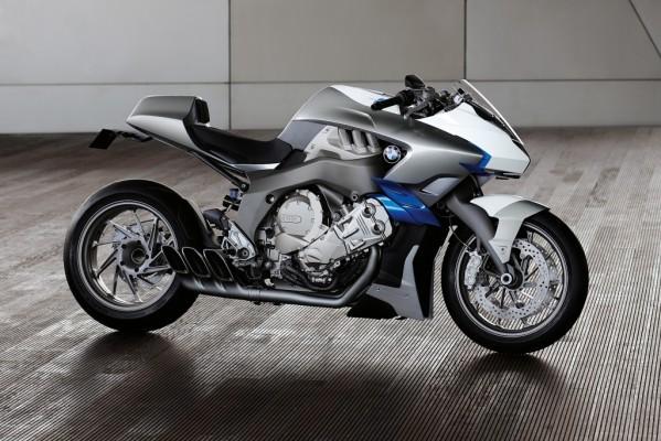 BMW präsentiert Sechszylinder-Konzeptmotorrad