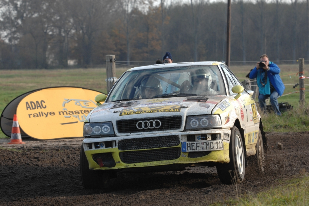 Carsten Alexy im Audi S2 Quattro.