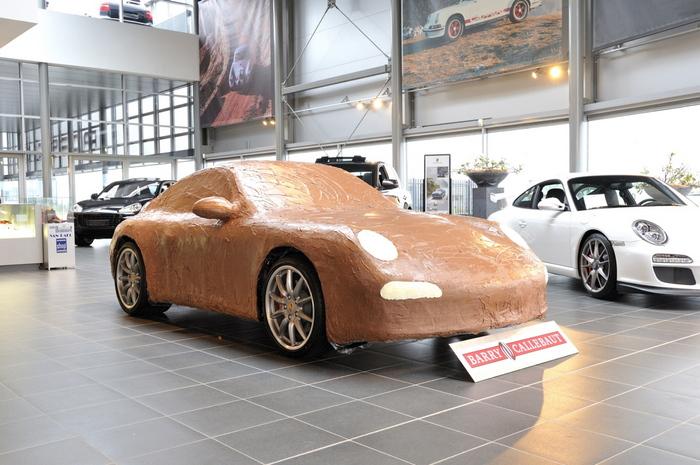 Mhmlecker Ein Porsche Aus Schokolade Magazin