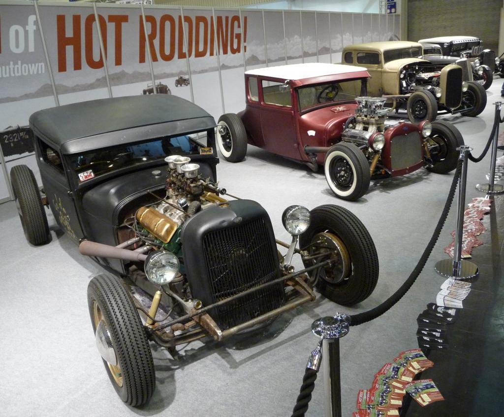 Essen Motor Show 2009: Hot Rods.