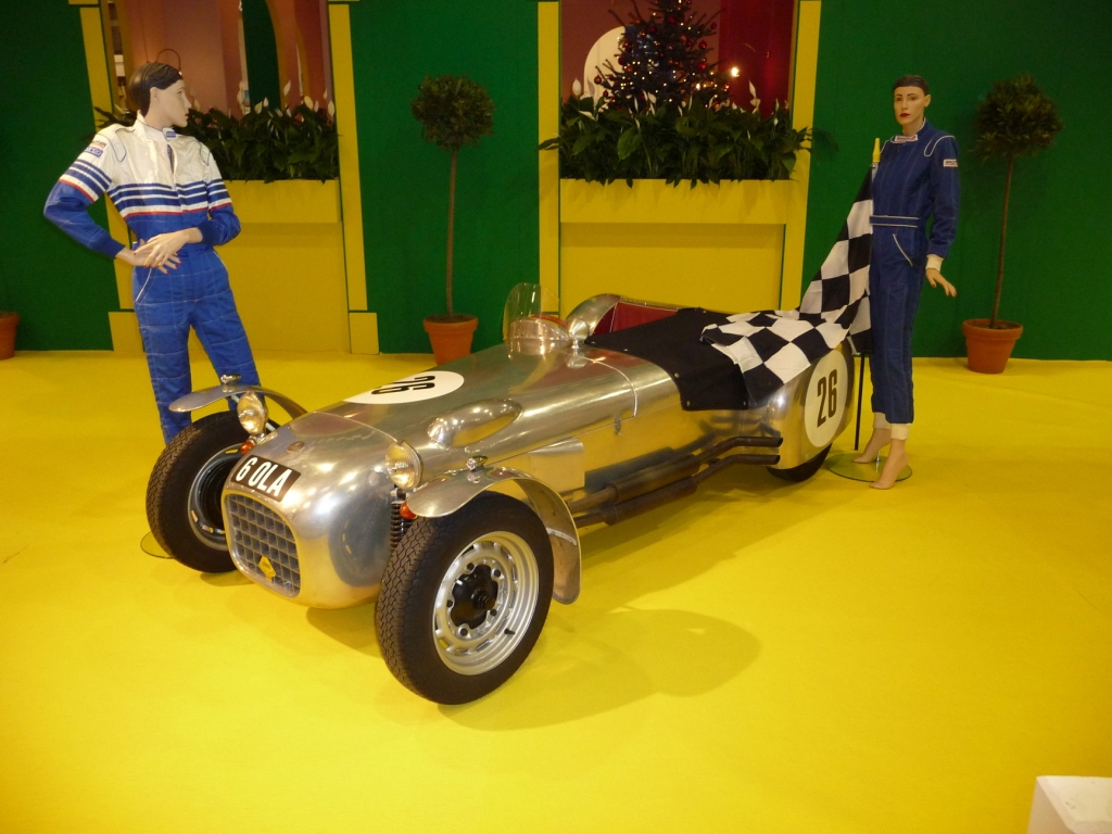 Essen Motor Show 2009: Lotus Mark 6 von 1954, 432 kg Leergewicht, 46 PS.