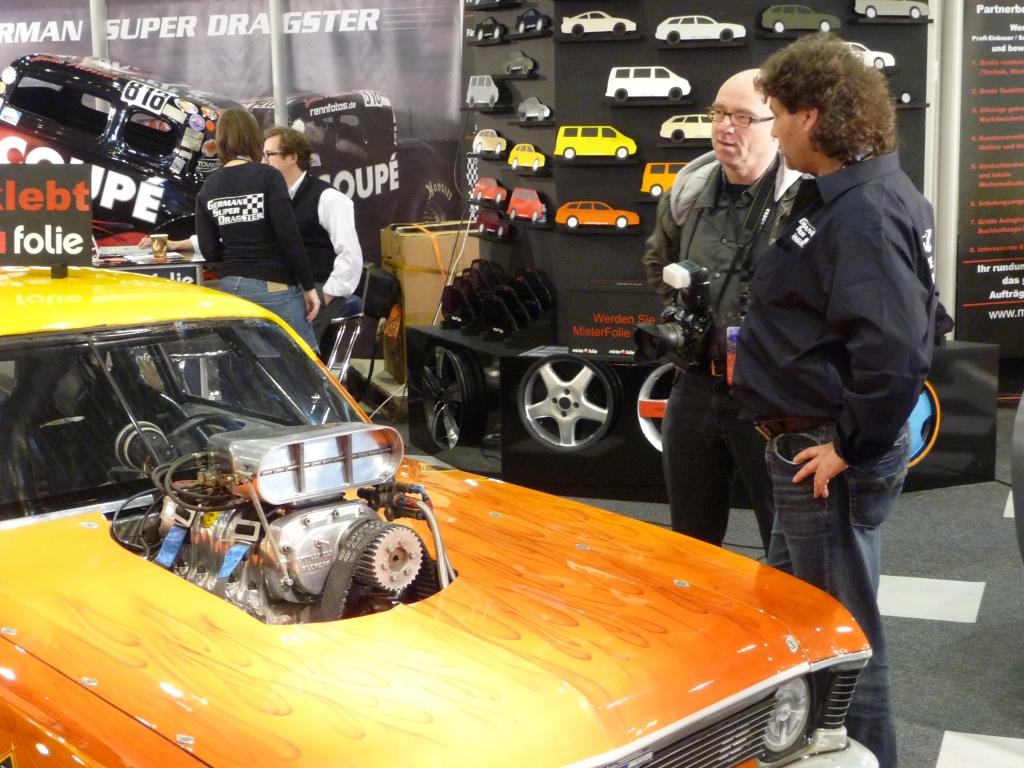 Essen Motor Show 2009: Platz für Fachsimpeleien.