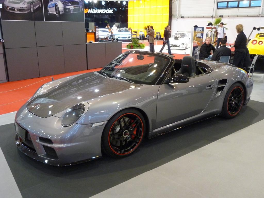 Essen Motor Show 2009: Porsche 911 von der 9ff Fahrzeugtechnik GmbH individualisiert.