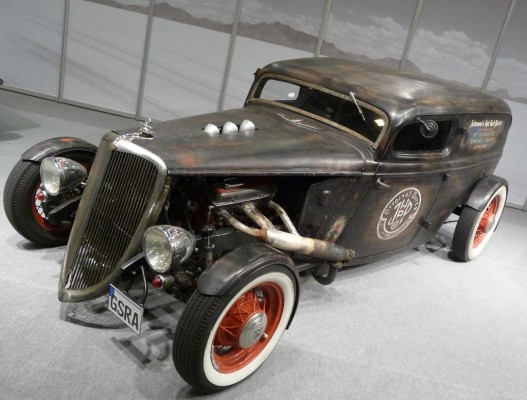 Essen Motor Show: Hot Rods suchen Bewunderer