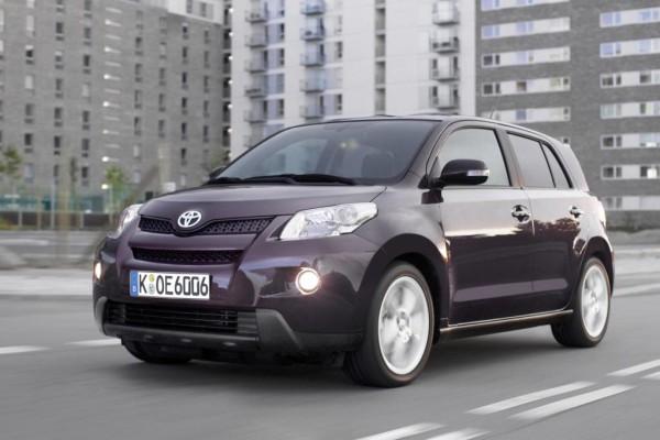 EuroNCAP: Fünf-Sterne-Regen rieselt am Toyota Urban Cruiser vorbei
