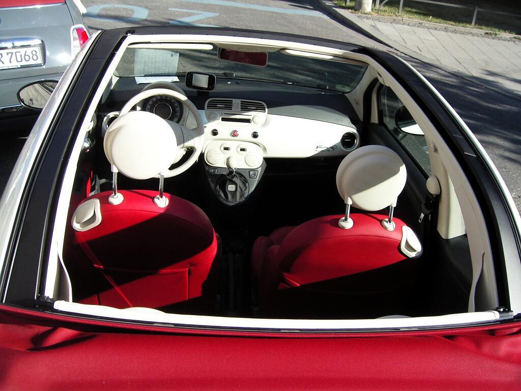 Fahrbericht Fiat 500 C Lounge: Stilfrage- Bild(13)