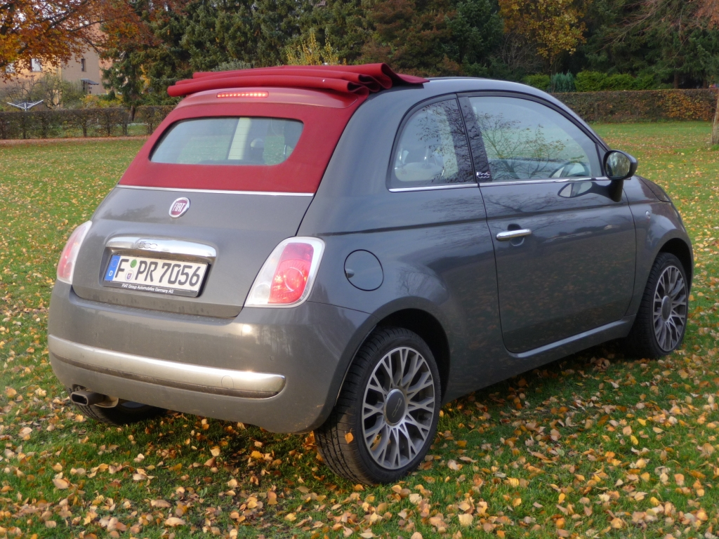 Fahrbericht Fiat 500 C Lounge: Stilfrage- Bild(3)