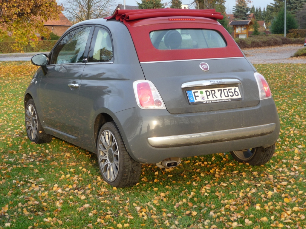 Fahrbericht Fiat 500 C Lounge: Stilfrage- Bild(4)