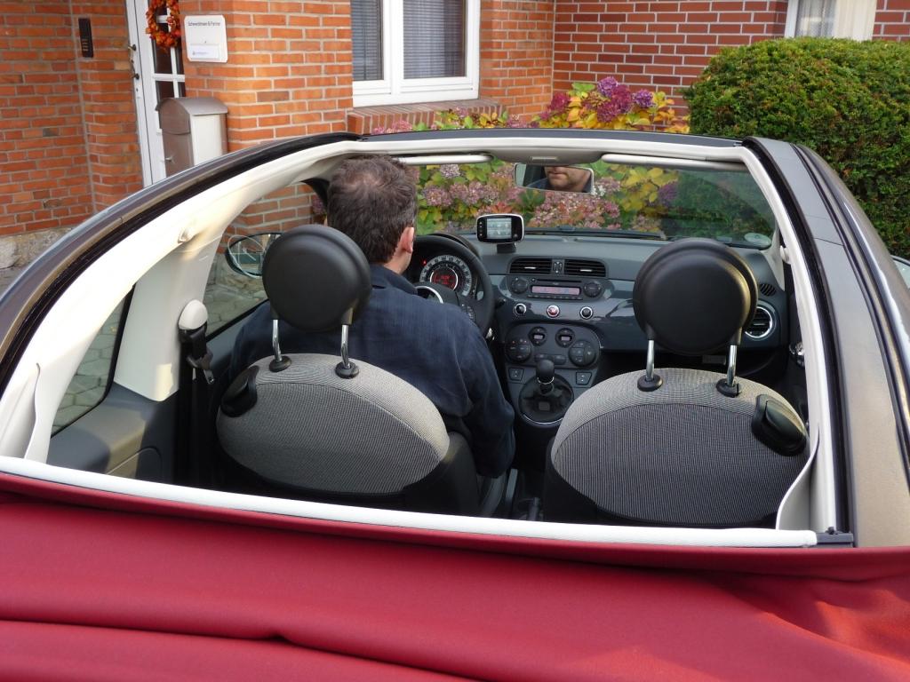 Fahrbericht Fiat 500 C Lounge: Stilfrage- Bild(9)