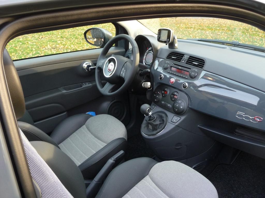 Fahrbericht Fiat 500 C Lounge: Stilfrage- Bild