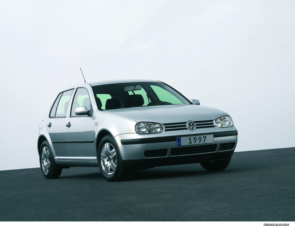 Golf 1997-2003 - Die vierte Generation