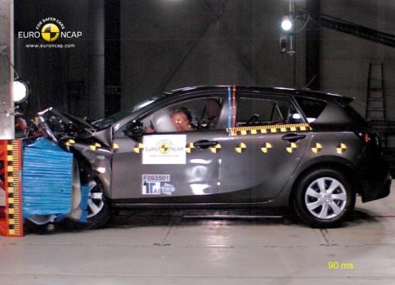 Höchstwertung für Mazda 3 im neuen EuroNCAP-Sicherheitstest