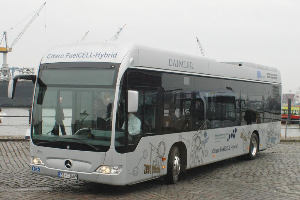 Hamburg testet 10 Brennstoffzellen-Hybridbusse - Bild 2