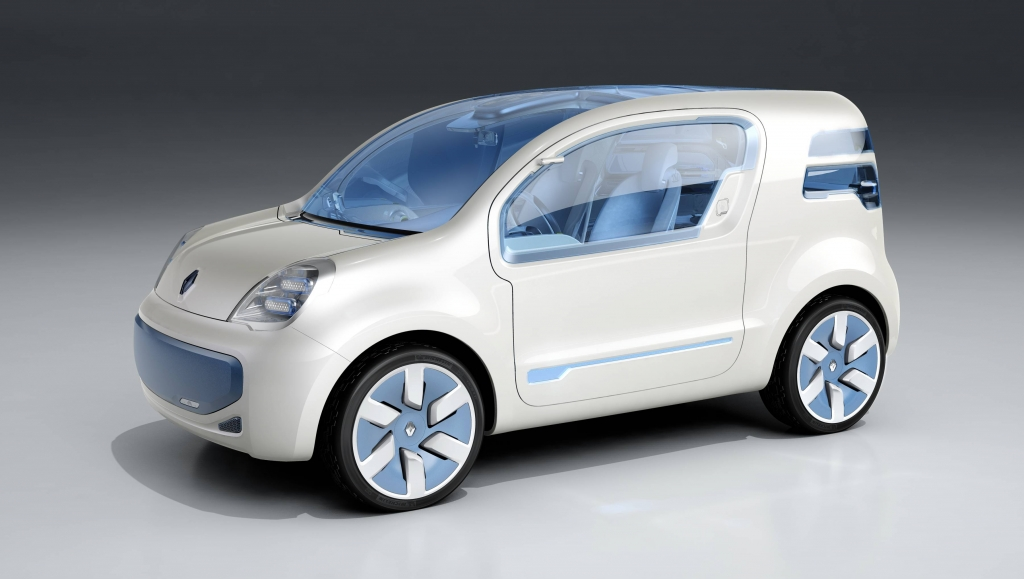 Kangoo Z.E. Concept, Elektroauto, 2009
