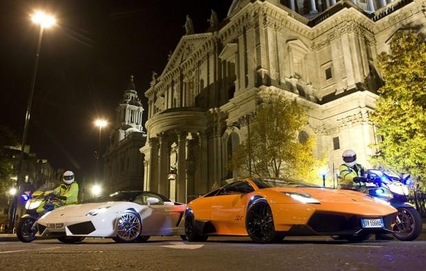 Lamborghini auf dem Laufsteg