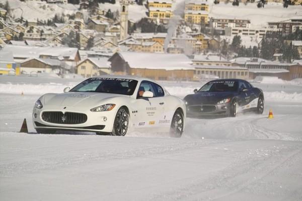 Maserati startet Winterfahrtraining