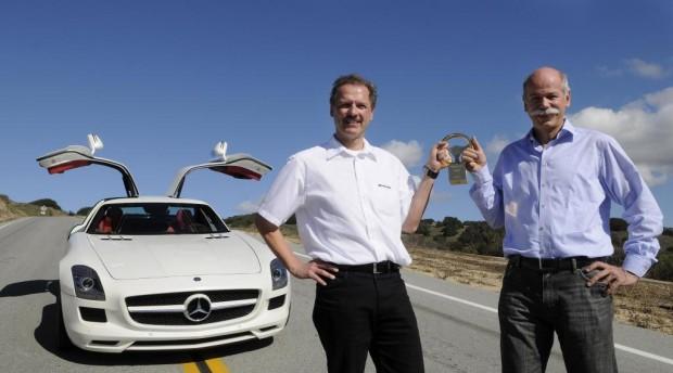 Mercedes-Benz: Formel 1 Krimi, SLS Freuden