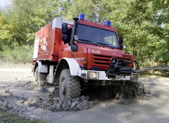 Mercedes-Benz informierte über neue Sonderfahrzeuge für die Feuerwehr