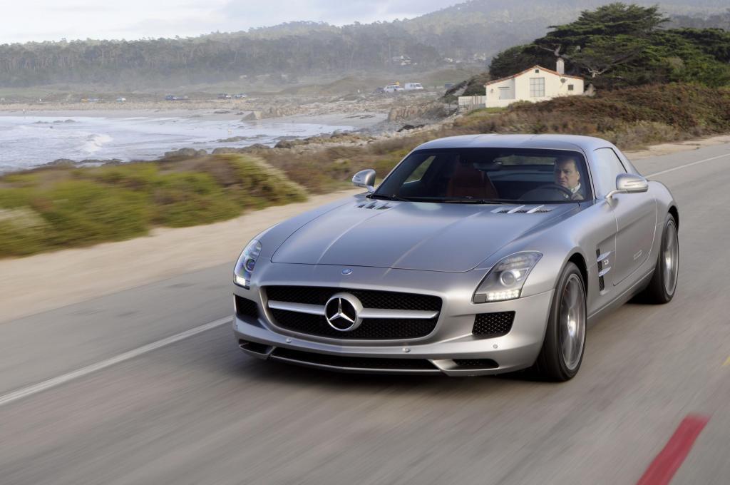 Mercedes SLS AMG: Aber bitte mit Flügeltüren!