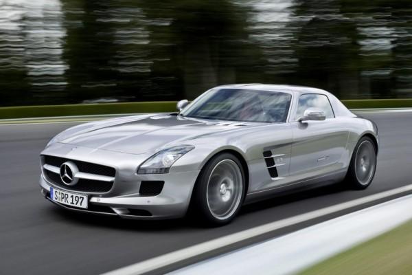 Mercedes SLS AMG: Die Cowboys machen Ernst