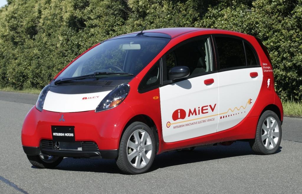 Mitsubishi liefert die ersten i-MiEV nach Europa