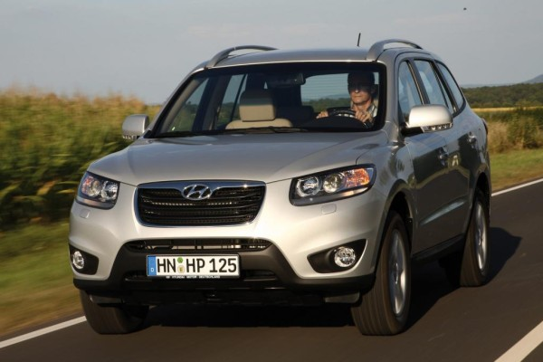 Modellpflege für Hyundai Santa Fe