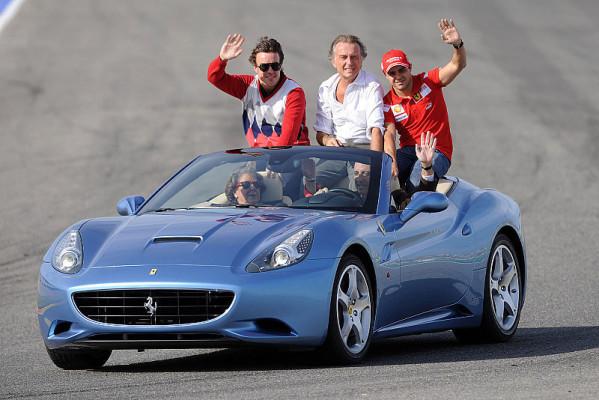 Montezemolo: Haben die besten Fahrer: Alonso für Ferrari in Valencia