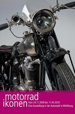 Motorrad-Ikonen in Wolfsburger Autostadt ausgestellt