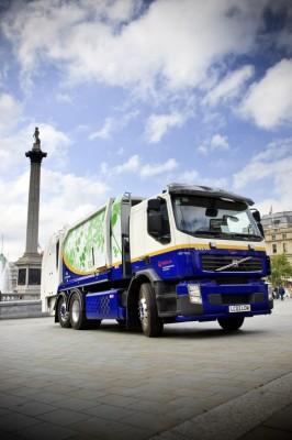 Neues Hybrid-Müllfahrzeug wird in London getestet